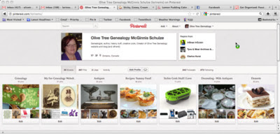Olive Tree Genealogy Blog: Pinterest: Time Waster or Useful Utility?