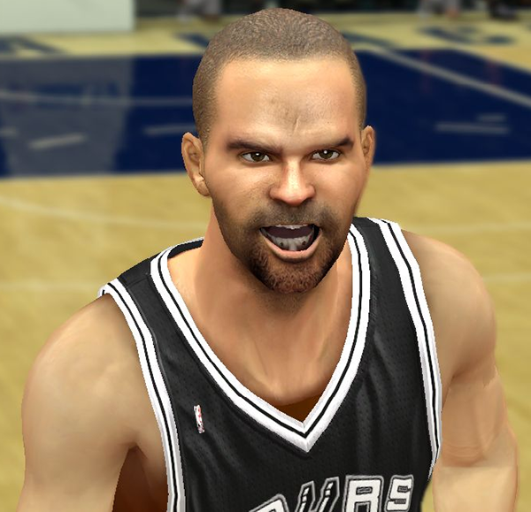 NBA 2K14 Tony Parker Face Mod
