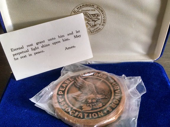 Pearl Harbor Survivors Association Medallion