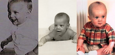 Cruise, Obama and Rooney as Babies