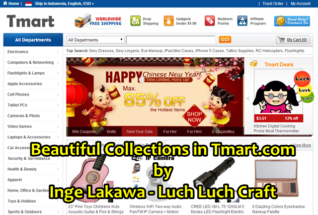 Beautiful Collection in Tmart.com - My Favorite