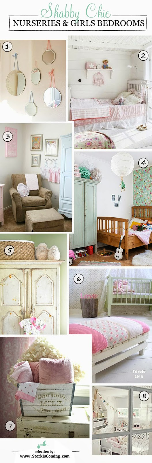 best shabby chic bedrooms for little girls