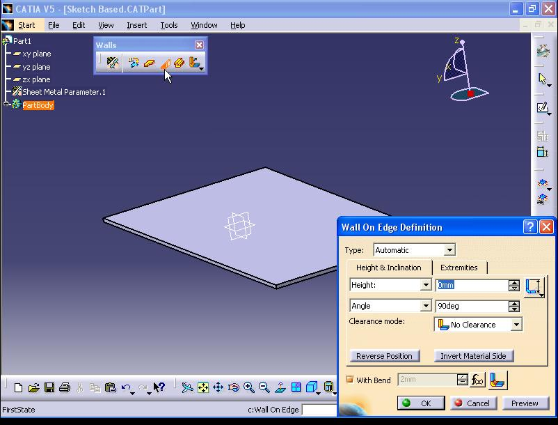 how to fix open constrants catia