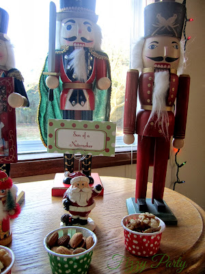 Elf Party, Christmas Party, Fizzy Party, Nutcracker , The Pretty Party Shoppe