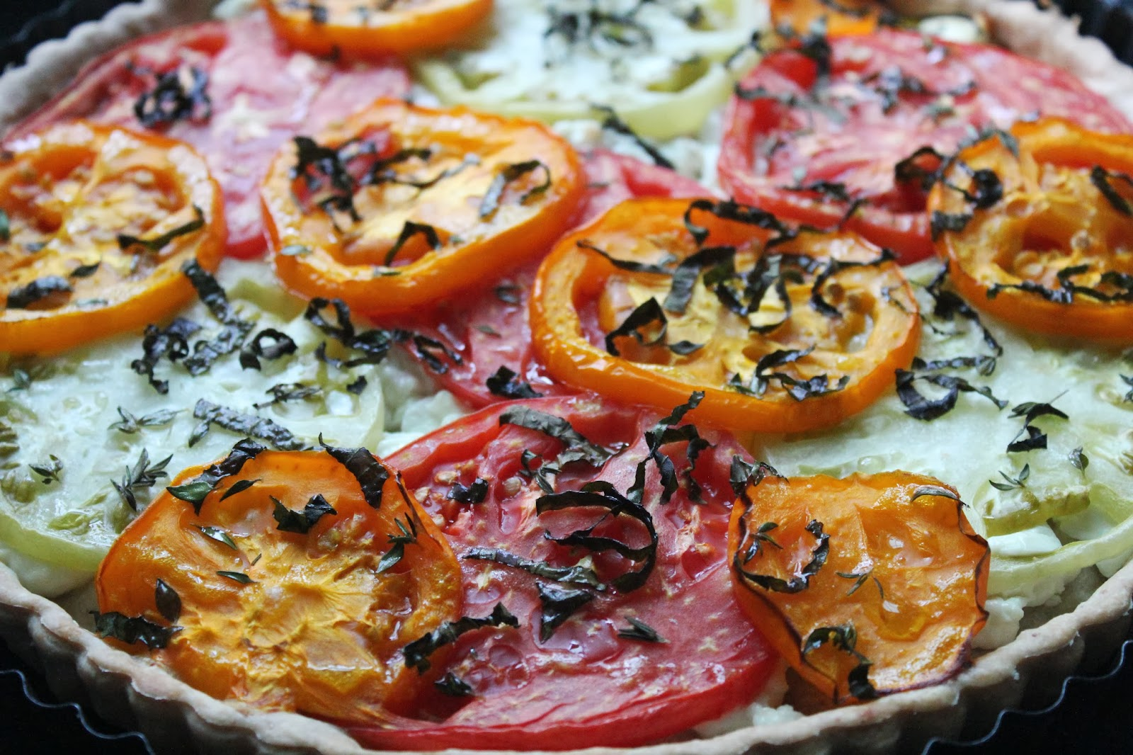 ... tomato and goat s cheese tart is a family tomato and goat s cheese