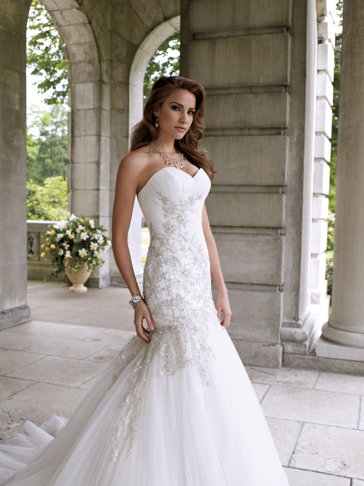Dream wedding place great designer wedding dresses by for Design my perfect wedding dress