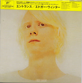 EDGAR WINTER - ENTRANCE (EPIC 1970) Jap mastering cardboard sleeve sleeve