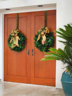 And Ideas For Christmas Door Decorations , Christmas Decorating