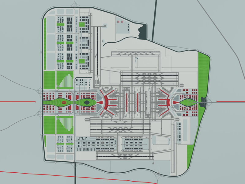 About Airport Planning New Beijing Airport Master Plan