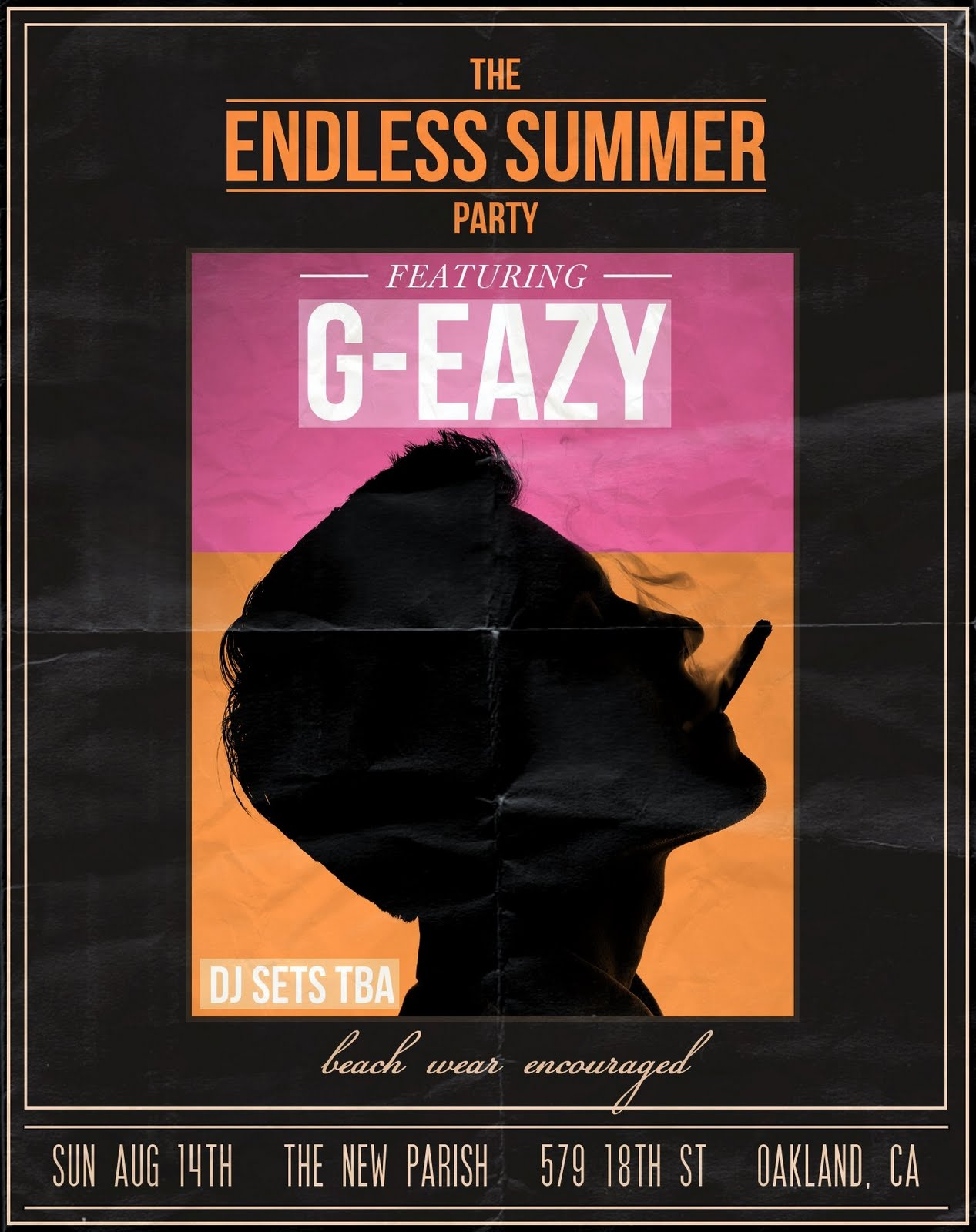 Posted by Chad Swedberg at  G Eazy Endless Summer
