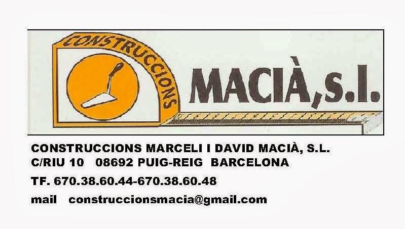 Construccions Maciá, S.L.