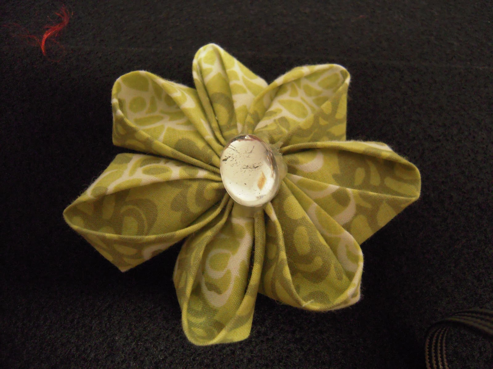 Angela Thee Fabric Flowers And Fabric Origami