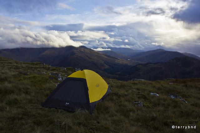 Rab Latok Ultra Bivi, wild camping