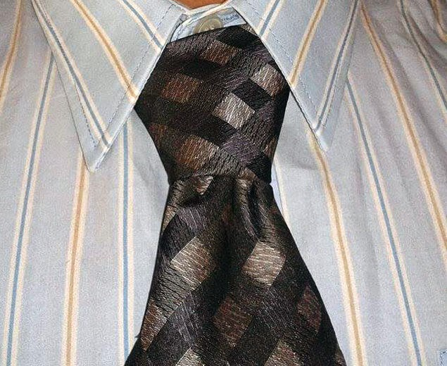 Kaklaraiščio mazgas Nr.1