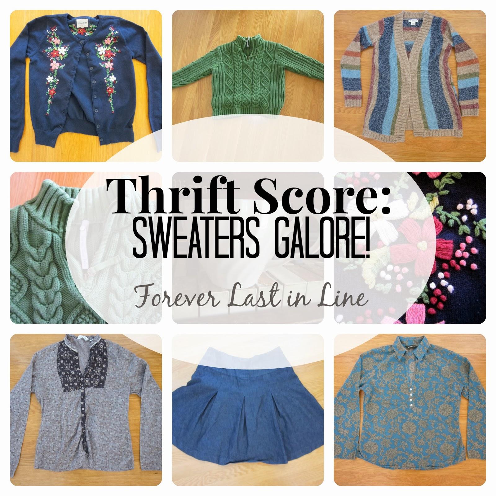 Forever Last in Line: Thrift Score!