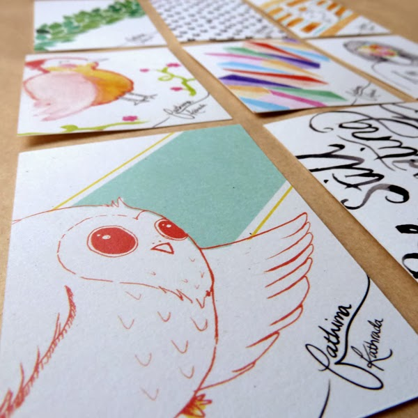 Happiness is... new business card designs