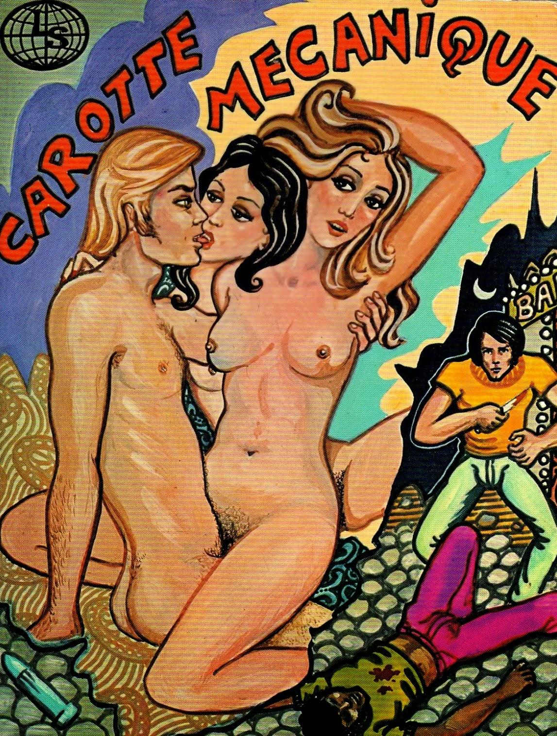 BD porno et dessins érotiques