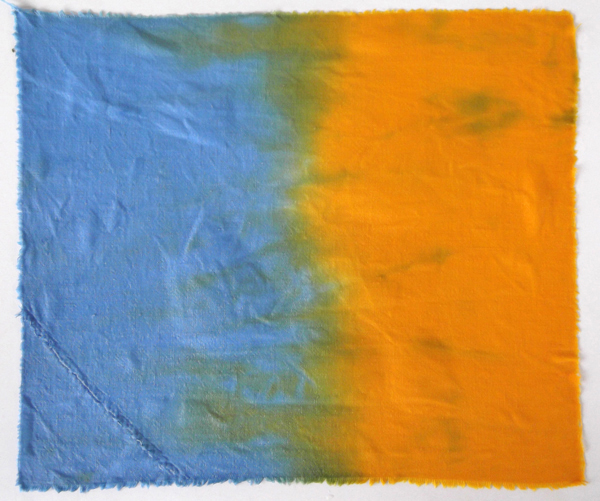 dip dyeing, fabric dyeing, textile dyeing tutorials,