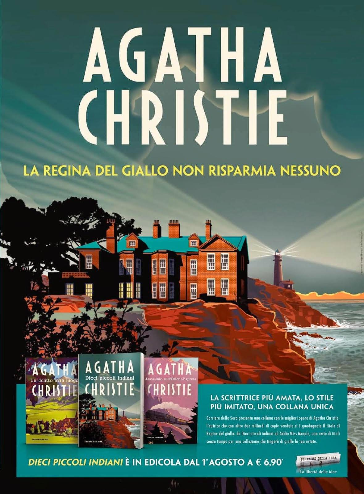 Agatha Christie in edicola