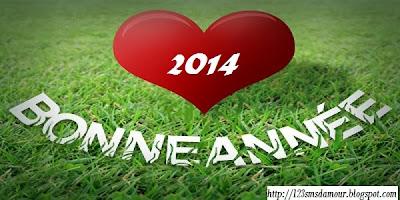 sms d'amour bonne année 2014