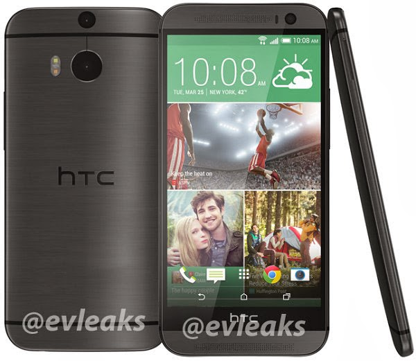 HTC One 2014 grey
