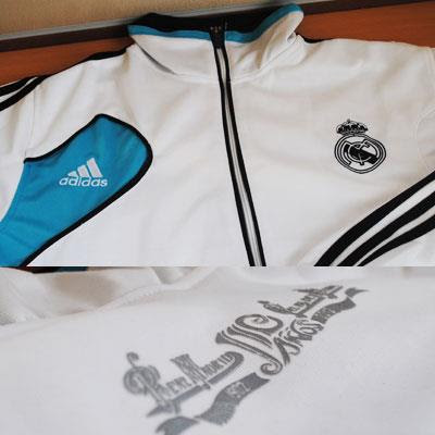 Jual Jaket Real Madrid Home 2012-2013