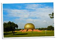 Bola dorada en Auroville