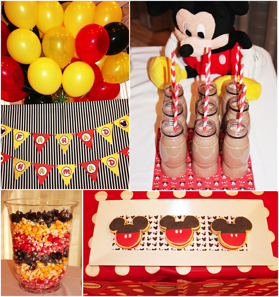 Mickey Mouse Themed Birthday Party Ideas