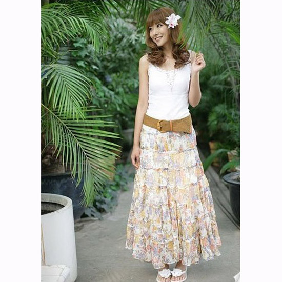 New Tips On How To Wear A Long Skirt For Your Body Type  Lifestyle