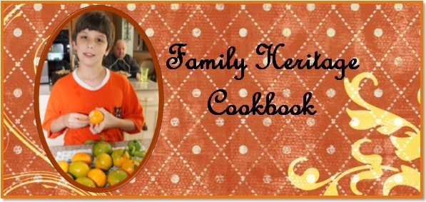Family Heritage Cookbook