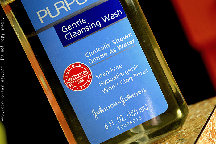 Purpose Gentle Cleansing Face Wash Sensitive Skincare Makeup Beauty Blog Reviews Ingredients