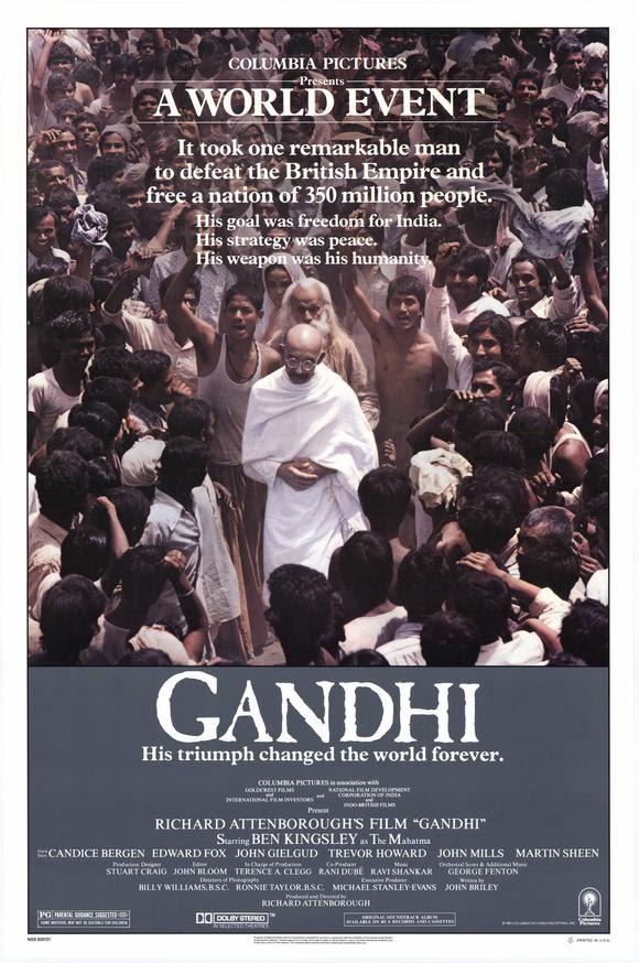 Image result for Gandhi Released: 1982