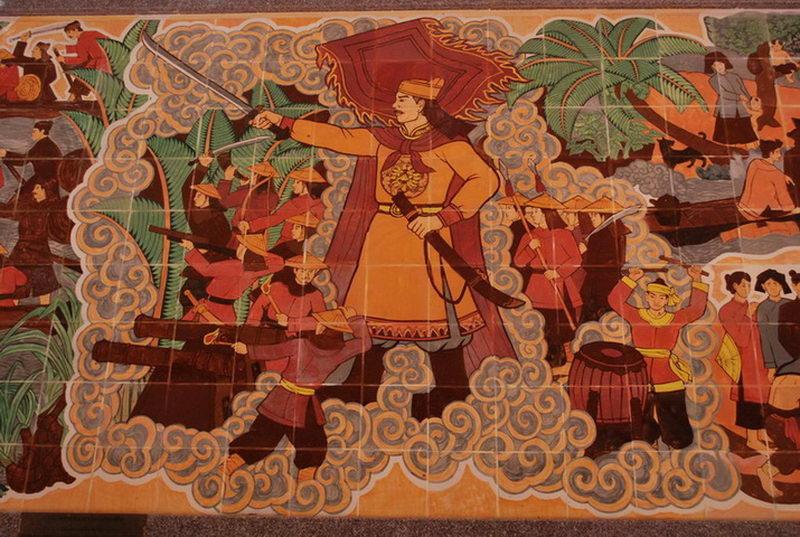 Tham quan khu di  tích Chiến thắng Rạch Gầm - Xoài Mút ở Tiền Giang