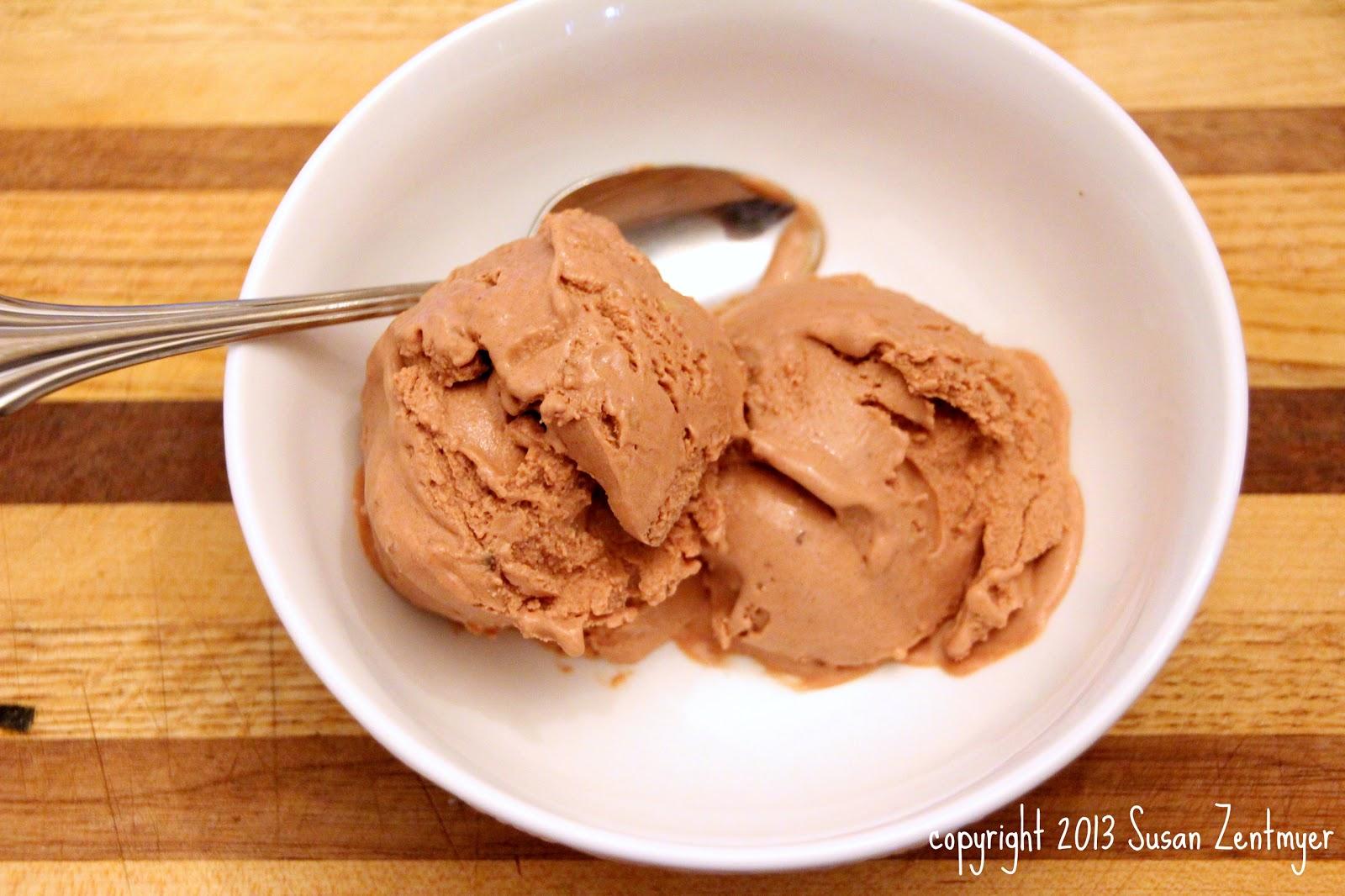 Love from the Kitchen: Chocolate Frozen Greek Yogurt