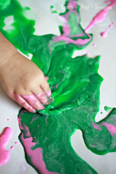 A chilly paint recipe perfect for summer fun