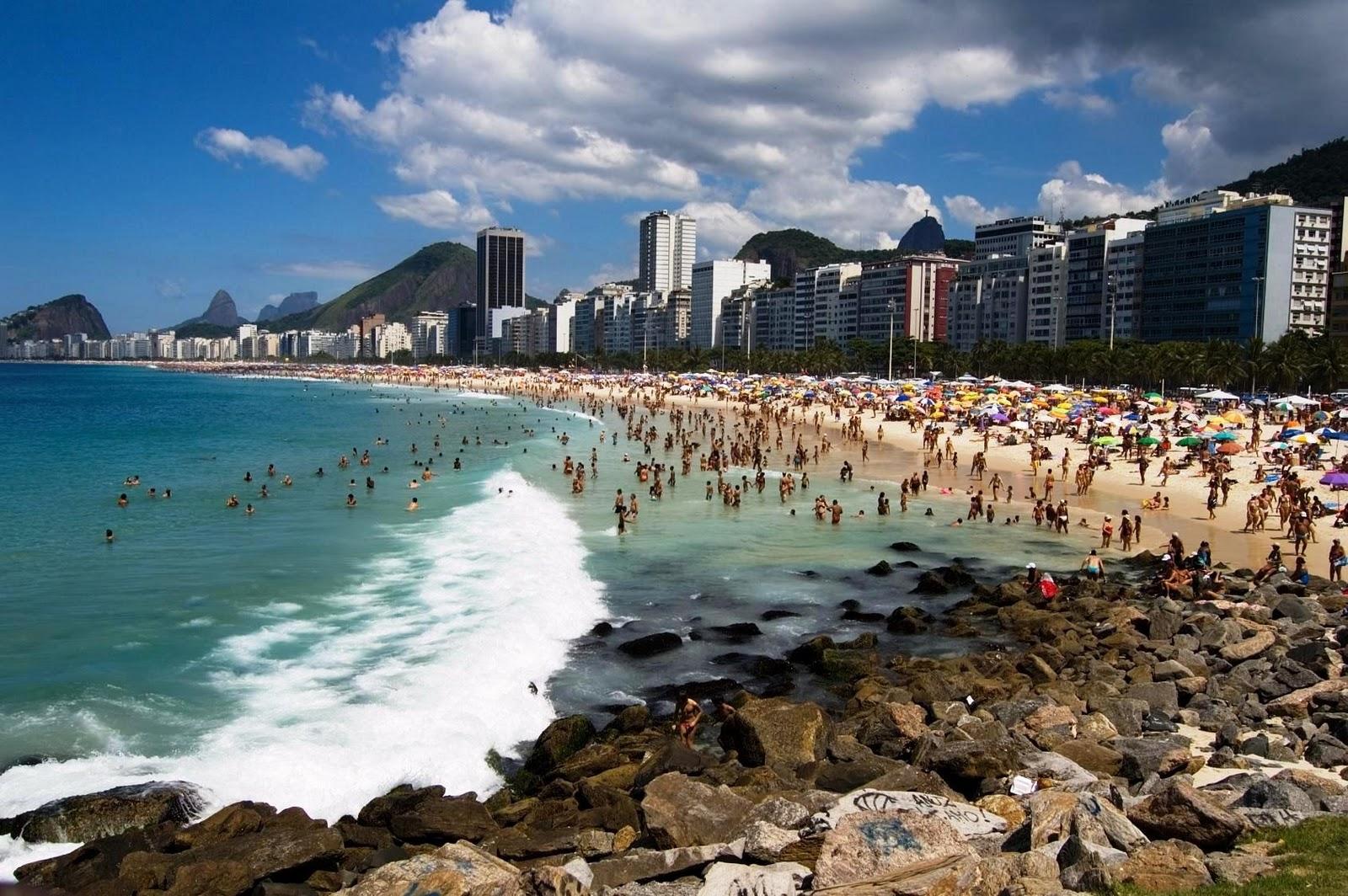 Praia de Ipanema - Rio de Janeiro RJ | Places to Visit | Pinterest ...