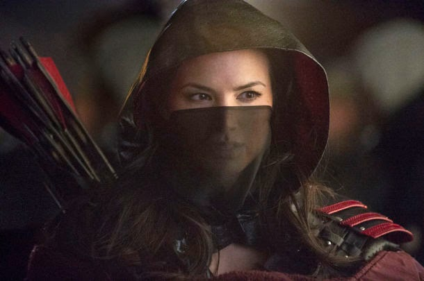 Katrina Law como Nyssa Al Ghul en Arrow