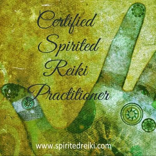 I'm a Spirited Reiki Practitioner