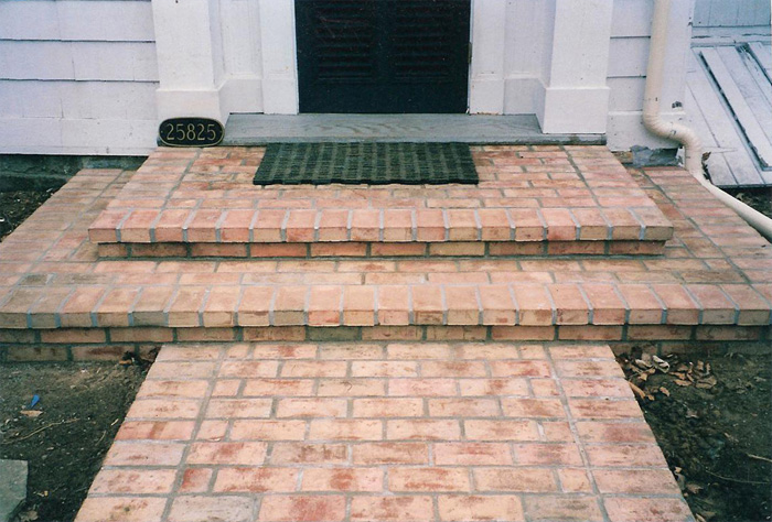 Brick Vector Picture: Brick Porches
