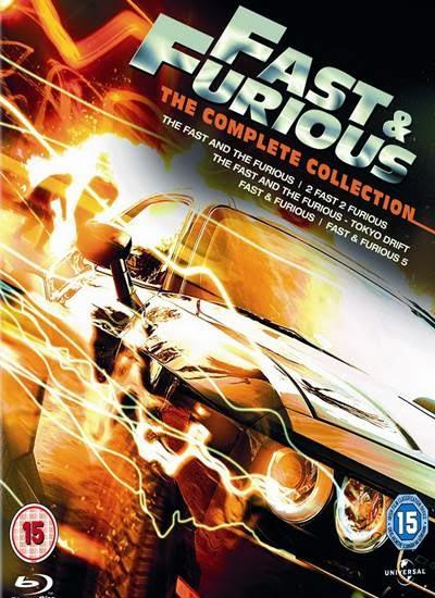 Fast & Furious เร็ว แรงทะลุนรก 1-6  มาสเตอร์ พากย์ไทย master HD