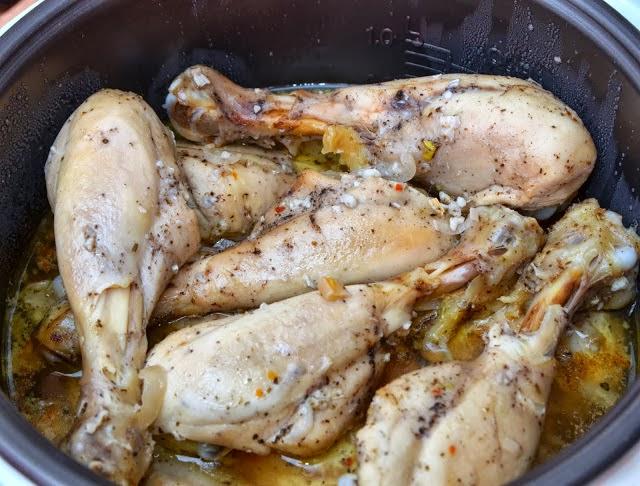 Голень куриная с картошкой в мультиварке рецепт пошаговый