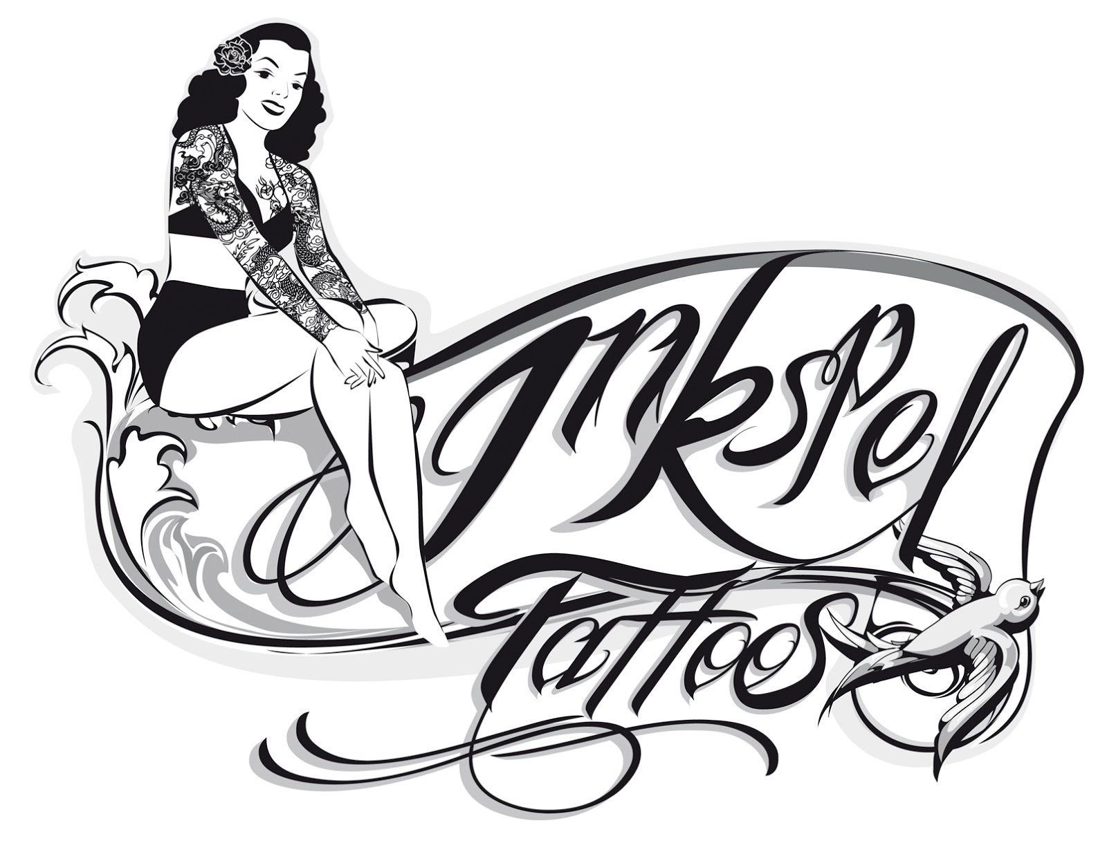 Tattoo Shop Logo Design
