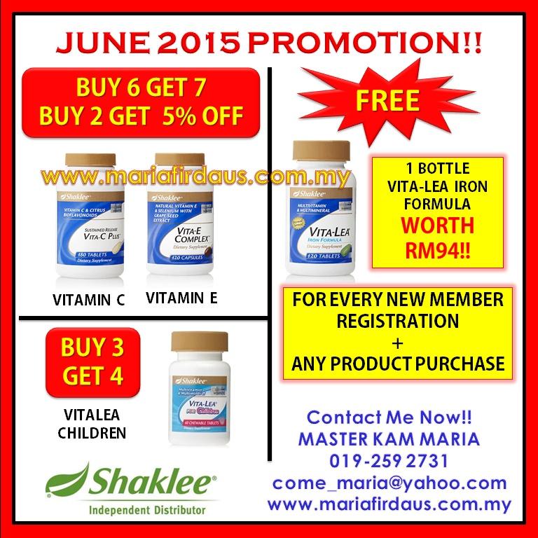 Promotion June 2015!!