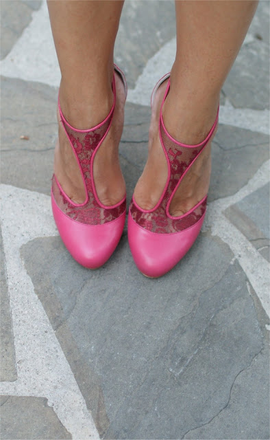 Loriblu shoes, pink shoes, Fashion and Cookies, fashion blog