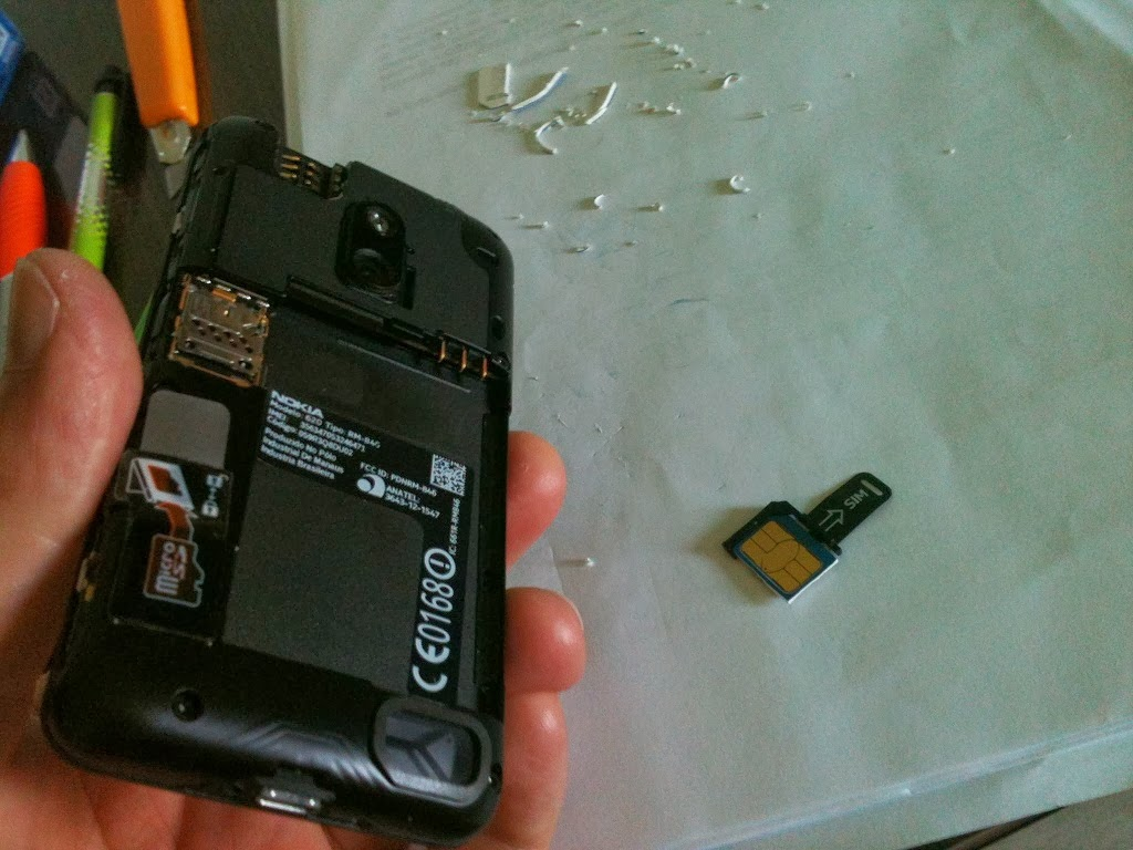 micro sim card nokia lumia 620