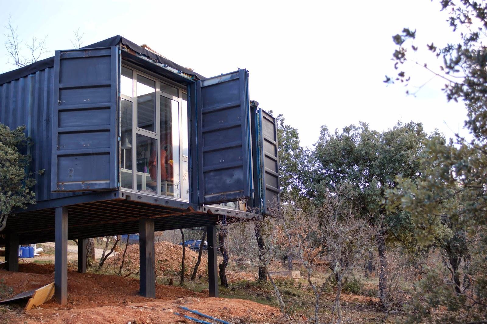Autoconstrucci n c mo transformar un contenedor 2 parte - Construir altillo madera ...