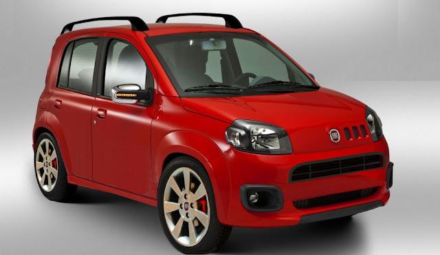Nuova Fiat Panda 2012 ipotesi