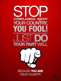 BE A PROUD MALAYSIAN