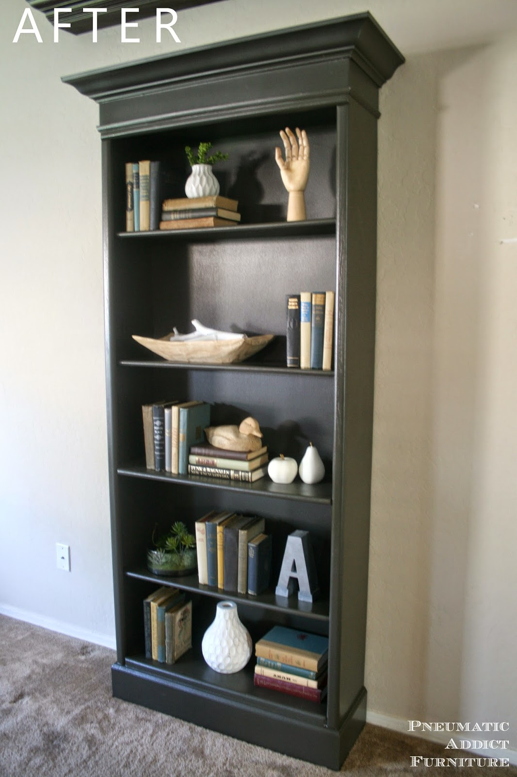 How to upgrade bookshelves pneumatic addict