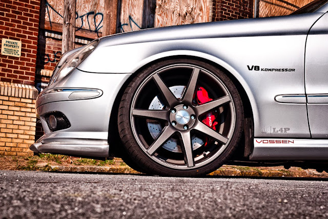 w211 vossen wheels